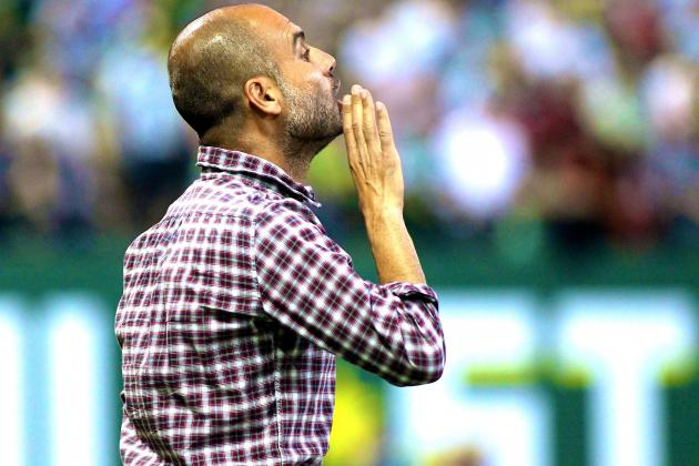Twitter Reacts as Pep Guardiola Won't Shake Hands After Loss to MLS All-Stars