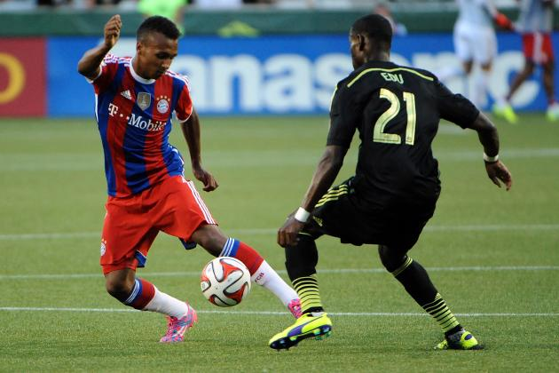 Julian Green Quiet in MLS All-Star Game Despite Status as Fan Favorite