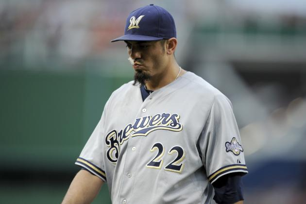 What Matt Garza's Injury Means for the Milwaukee Brewers' Playoff Chances