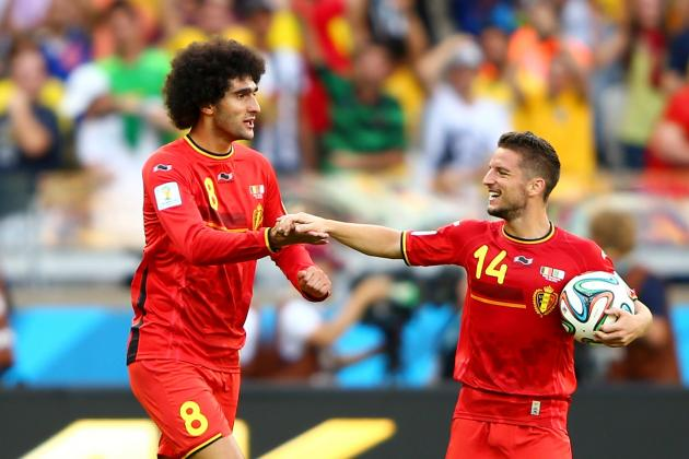 Why Swapping Dries Mertens for Marouane Fellaini Would Be a Bad Move for Napoli
