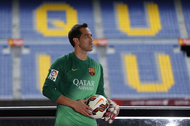 Barcelona Must Not Dismiss Claudio Bravo as No. 1 Despite Error vs. Napoli