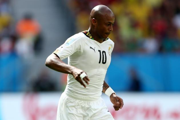 Ayew Has Heart Set on Joining Liverpool