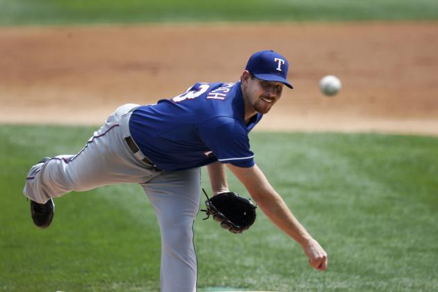 Nick Tepesch Finding Success by Studying Colby Lewis on the Mound