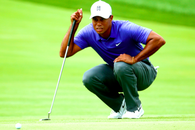 Tiger Woods at PGA Championship 2014: Day 1 Leaderboard Score, Twitter Reaction