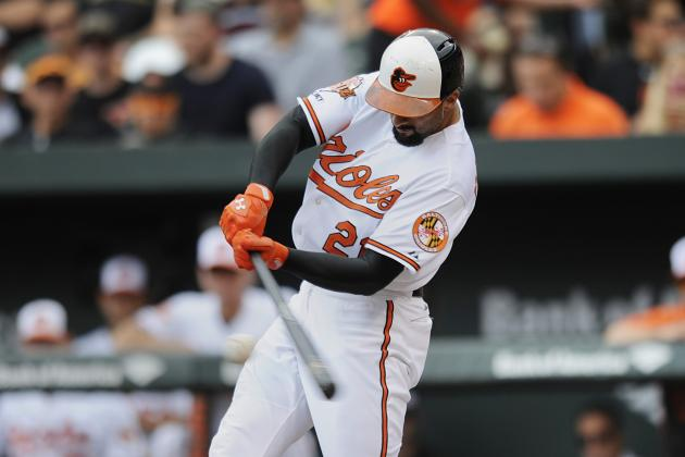 Orioles' Nick Markakis Records Career Hit No. 1,500
