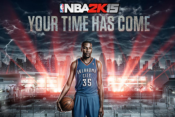 NBA 2K15 Announces My League, Reveals New Trailer Starring Kevin Durant
