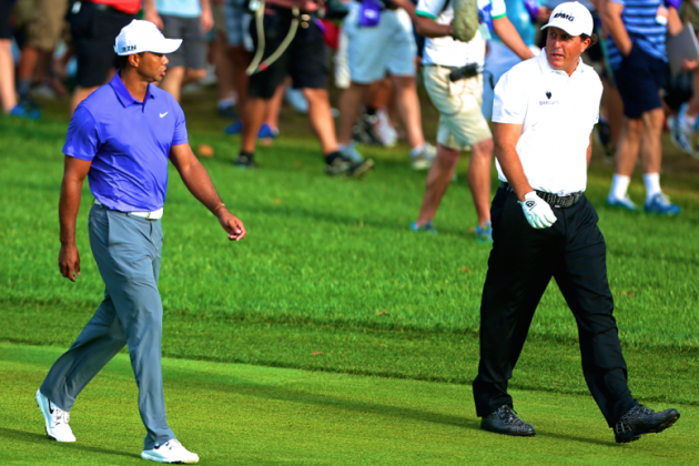 Tiger Woods and Phil Mickelson Grouping to Be Savored at 2014 PGA Championship