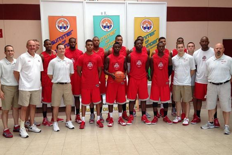Photos: Ohio State Basketball Has Special Jerseys for Trip to Bahamas