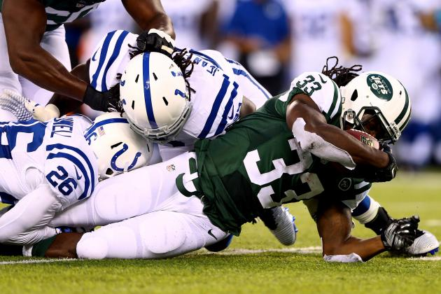 Colts vs. Jets: Score and Twitter Reaction from 2014 NFL Preseason
