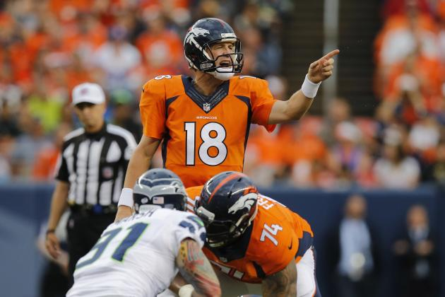 Peyton Manning Leads Scoring Drive Against Seahawks Before Exit