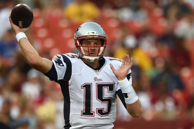 Ryan Mallett Struggles in Showcase for New England