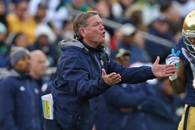 Why Notre Dame's Brian Kelly Wouldn't Support Power 5 Sked