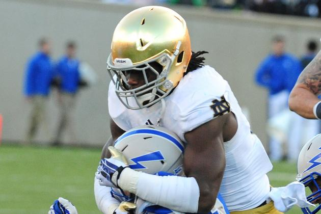 Can Jaylon Smith Really Take the Lead for Notre Dame Football?