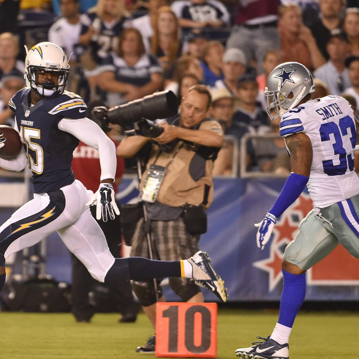 San Diego Chargers Game Score: Cowboys Vs. Chargers: Score And Twitter Reaction From 2014