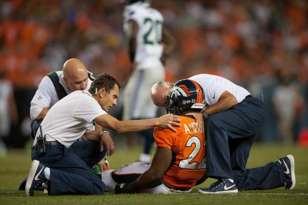 C.J. Anderson Leaves Seahawks Game with Concussion