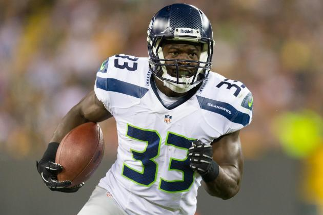 Christine Michael Reinforces How Dominant Seahawks Running Game Can Be in 2014