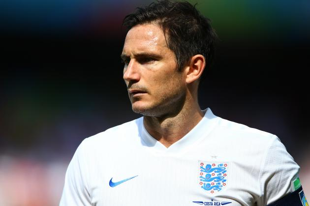 Frank Lampard and Bacary Sagna Ruled out of Arsenal vs. Manchester City Clash