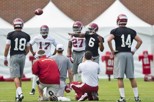 Alabama Football: Week 1 Fall Camp Recap