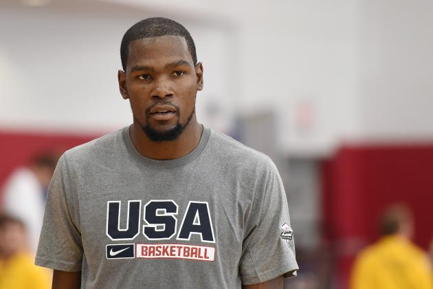 How Worried Should Team USA Be After Kevin Durant Withdraws from FIBA World Cup?