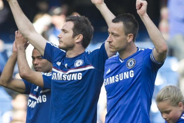 John Terry Has No Need to Pine for Lampard and Cole, Chelsea Are in Great Shape
