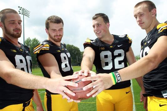 Hawkeyes Set Up for Tight-End-by-Committee Approach