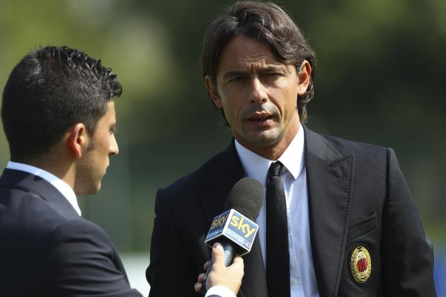 3rd Place Is the Minimum Requirement for Filippo Inzaghi at Milan This Season