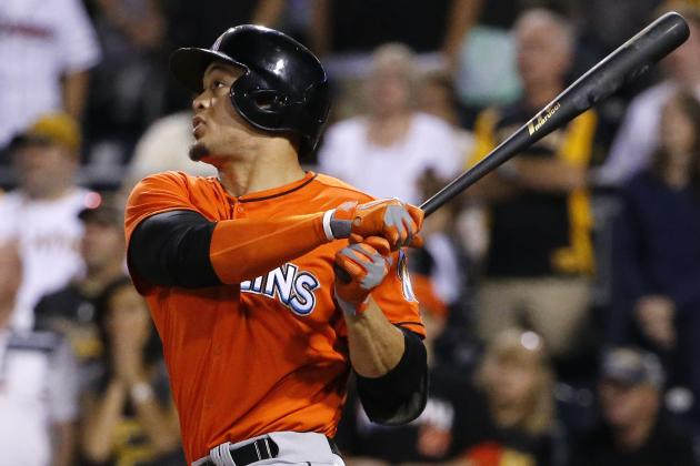 Marlins' Giancarlo Stanton Moves into 3rd on Franchise's All-Time Homers List