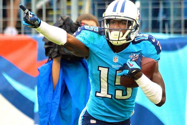 Titans WR Justin Hunter Flying Under the Radar as NFL's Best-Kept Secret