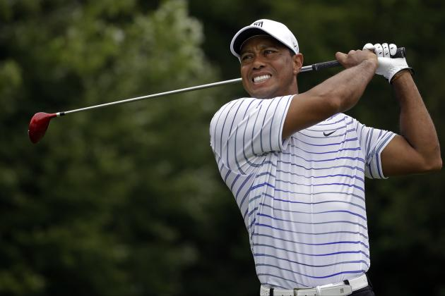 Tiger Woods at PGA Championship 2014: Day 2 Leaderboard Score, Twitter Reaction