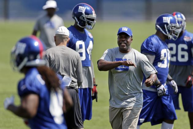 New York Giants Defense Entering 2014 Season with Hands-Up Approach