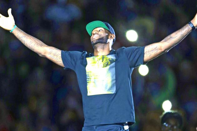 LeBron James Homecoming Rally: Twitter Reaction, Photos, Videos and More