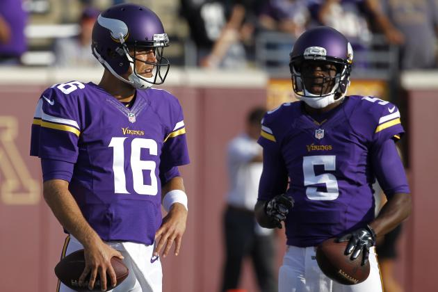 Teddy Bridgewater vs. Matt Cassel Fantasy Reaction for Vikings QBs vs. Raiders