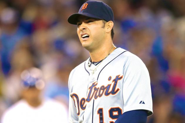 Anibal Sanchez Injury: Updates on Tigers Pitcher's Pectoral and Return