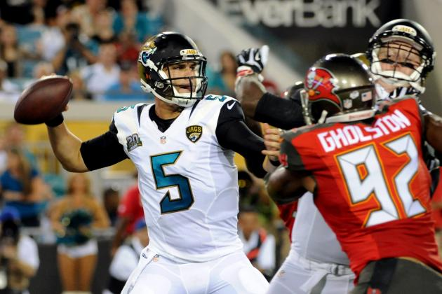 Blake Bortles' Strong Debut Is Encouraging Start for Jacksonville Jaguars