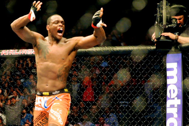 Ovince Saint Preux: Storming His Way Up the UFC's Light Heavyweight Ladder