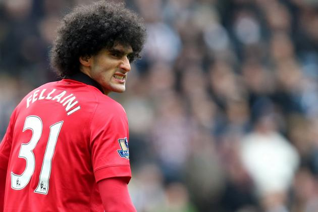 Marouane Fellaini Struggling to Prove Man United Move Wasn't Doomed from Start