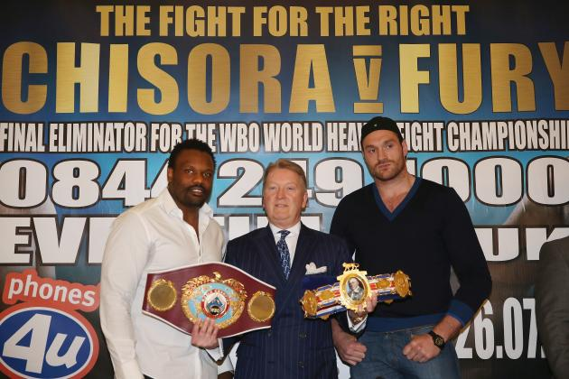 Tyson Fury vs. Dereck Chisora Rescheduled to November 22