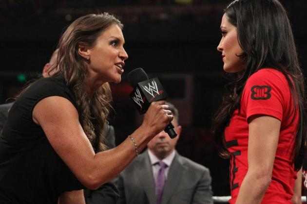 Stephanie McMahon vs. Brie Bella Will Be About Storyline, Not Wrestling