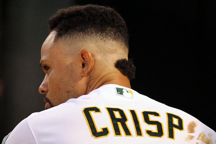 A's Coco Crisp Debuts Strange New Haircut