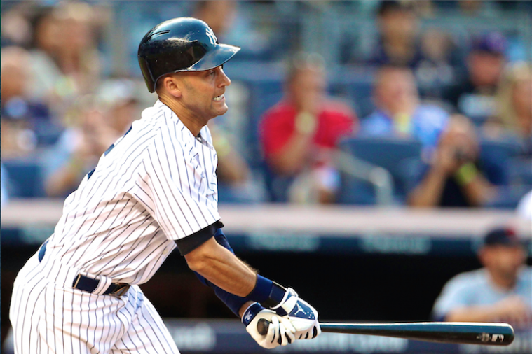 Derek Jeter Ties Honus Wagner for 6th on All-Time Hit List