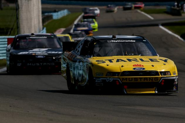 NASCAR Nationwide Series at Watkins Glen 2014: Live Leaderboard Updates