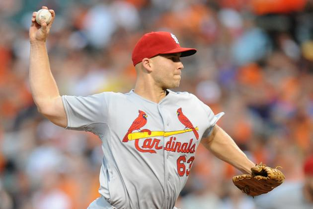 Cardinals' Masterson Working with Wainwright on Mechanics