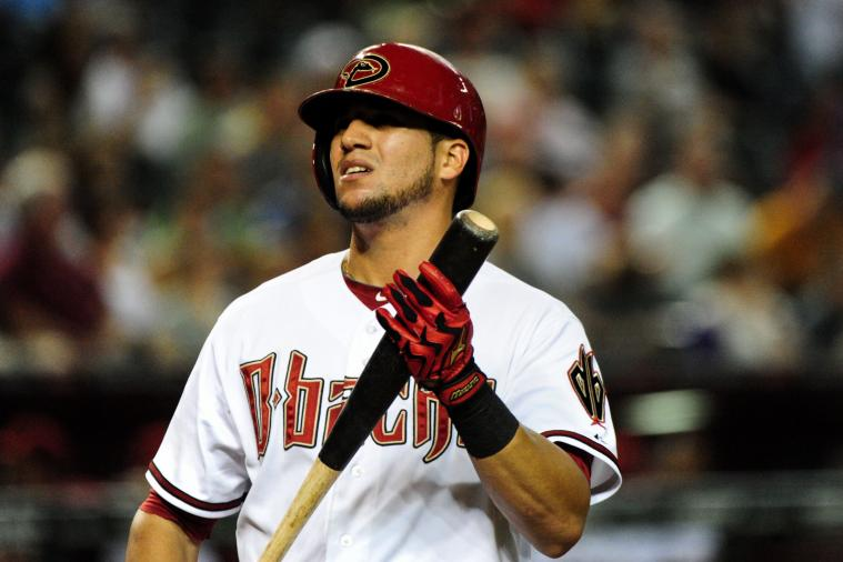 Diamondbacks' David Peralta Steals Home on Throw Back to Pitcher vs. Rockies