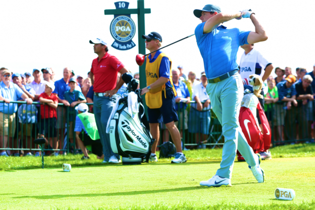 PGA Championship 2014: Day 3 Leaderboard Scores, Analysis, Highlights and More