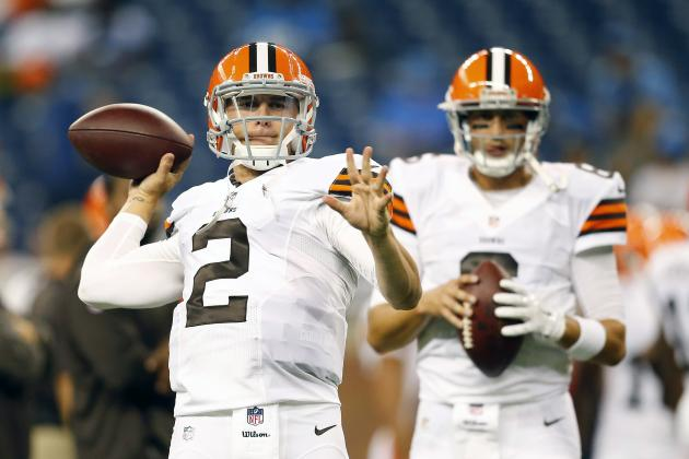Johnny Manziel vs. Brian Hoyer: Fantasy Reaction for Browns QBs vs. Lions