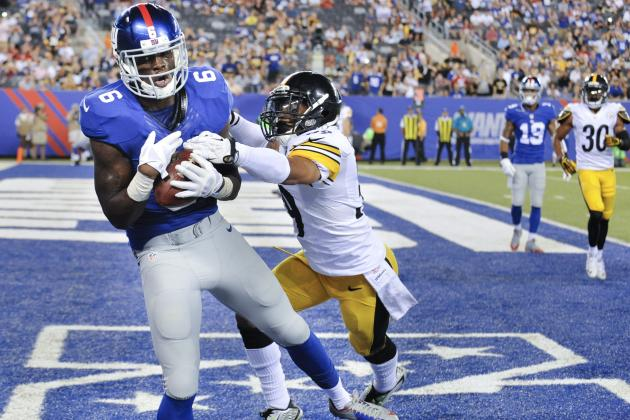 Steelers vs. Giants: Score and Twitter Reaction from 2014 NFL Preseason