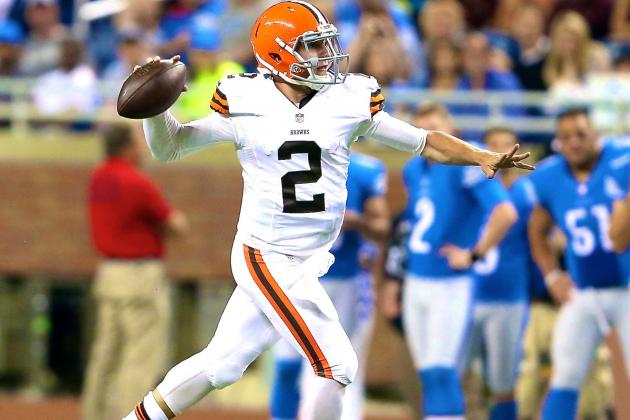 Browns vs. Lions: Score and Twitter Reaction from 2014 NFL Preseason