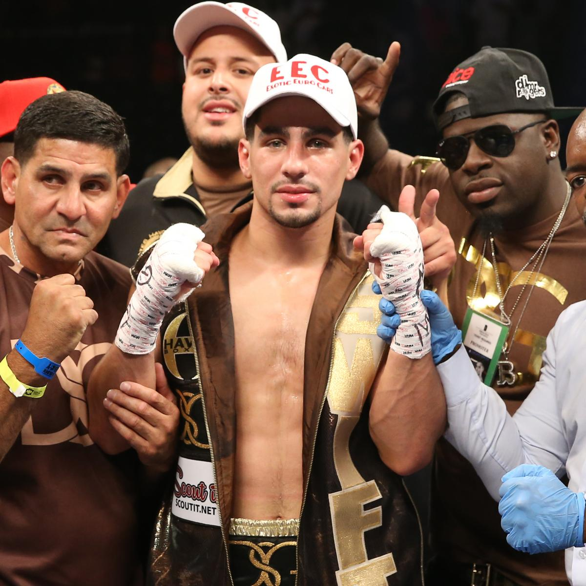 Danny Garcia Vs. Rod Salka: Live Round-by-Round Results