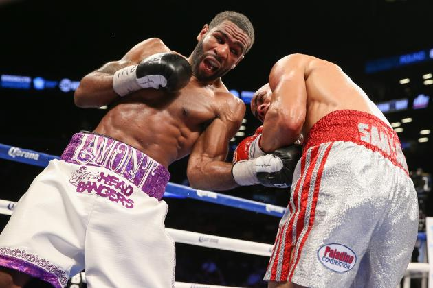 Lamont Peterson vs. Edgar Santana: Live Round-by-Round Results and Highlights