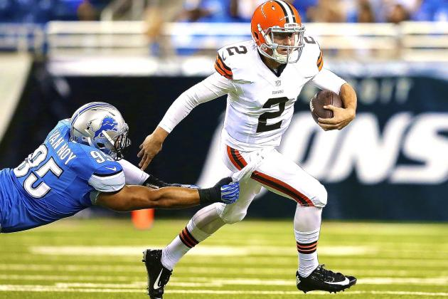 Johnny Manziel Impresses in Debut, Proves He's Ready to Take off Training Wheels